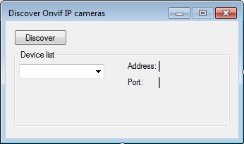 C# Camera SDK: Discover Onvif IP cameras on your local