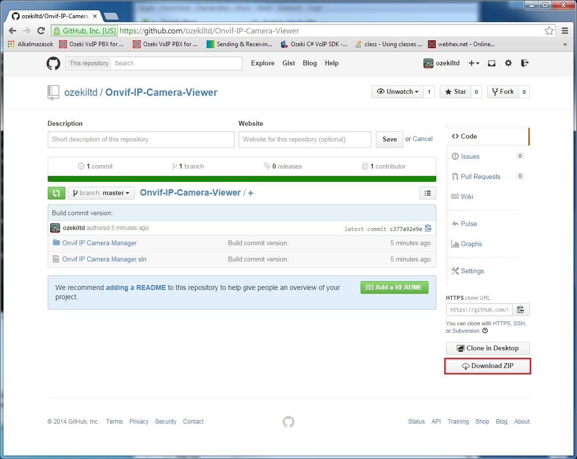 C# Camera SDK: C# Onvif IP Camera Viewer Git repository