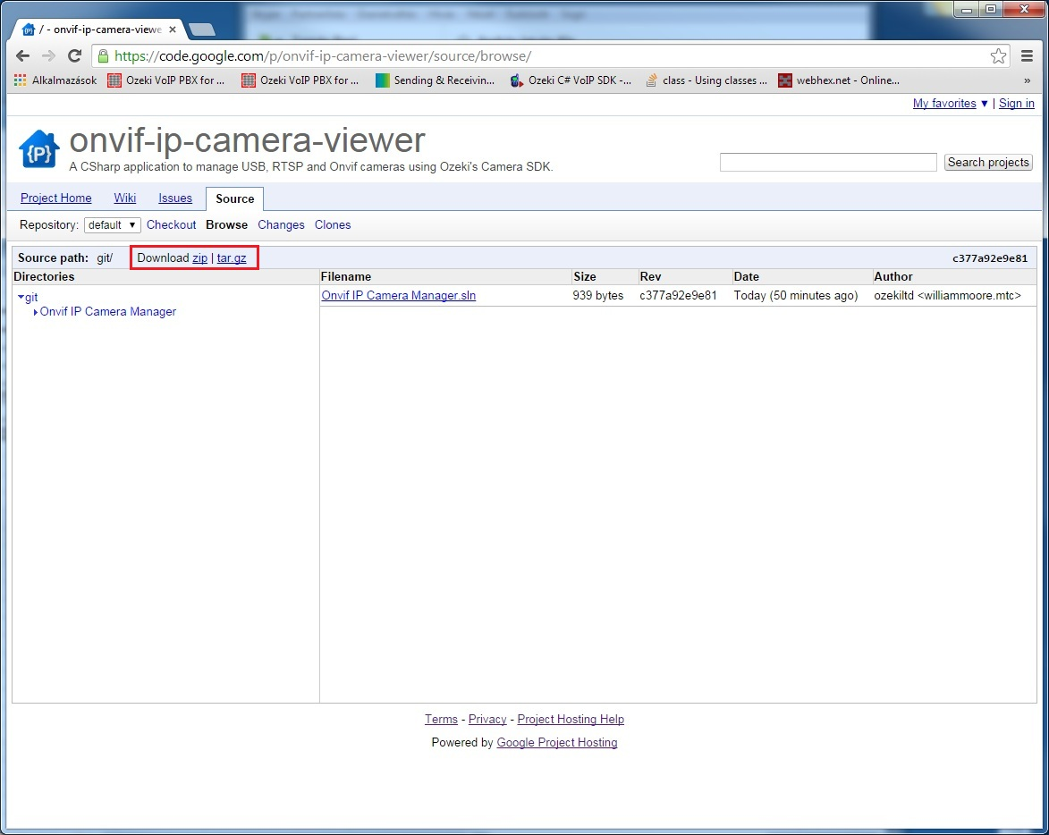 C# Camera SDK: C# Onvif IP Camera Viewer Git repository