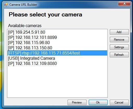 C# Camera SDK: Connect to RTSP camera stream, broadcasted by