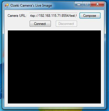 C# Camera SDK: Connect to RTSP camera stream, broadcasted by VLC