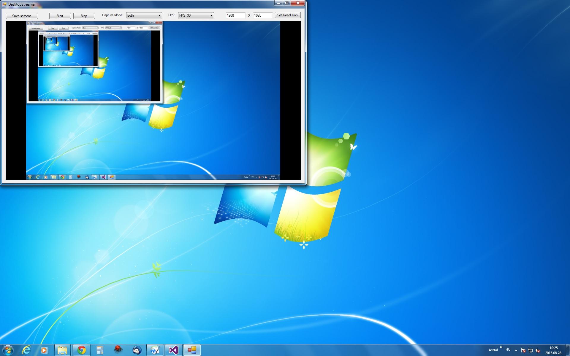 C# Camera SDK: Screen capture function - ScreenCapture