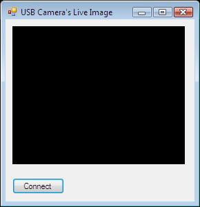 The Graphical User Interface of the USB camera viewer