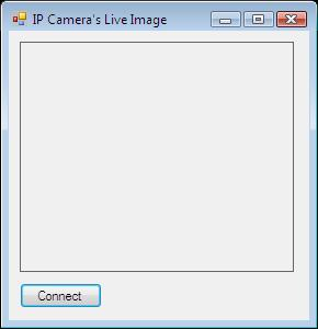 The Graphical User Interface of the IP camera viewer