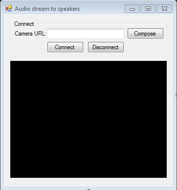 How to get and play audio stream of an RTSP/IP camera